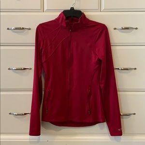 Workout zipper jacket